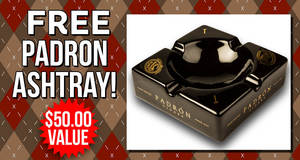 Free Padron Ashtray