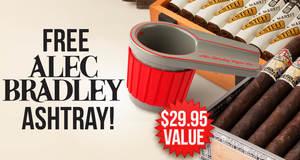 Free Alec Bradley Ashtray