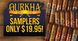 Select Gurkha Samplers Only $19.95!
