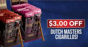 $3.00 Off Dutch Masters