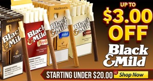This Week, Get Up To $3.00 Off Black & Mild Cigars!