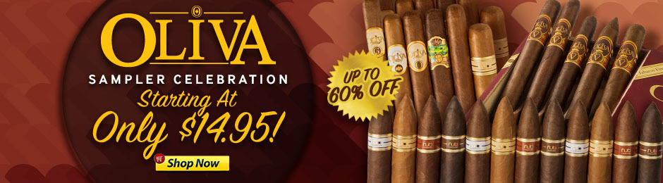 Oliva Sampler Celebration Starting Under $15.00!
