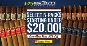 3-Day Drew Estate 5-Pack Event