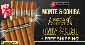 JR Plus Members Get A Cohiba & Monte Legends Collection For $49.95!