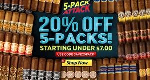 20% Off 5-Packs