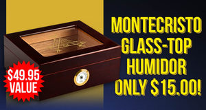 Monte Humidor Only $15.00