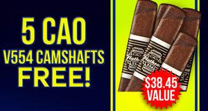 5 CAO V554 Camshafts Free