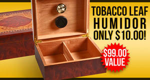 Humidor Only $10.00