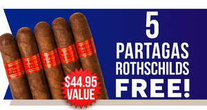 Partagas 5-Pack Free