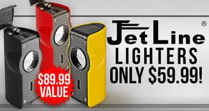 JetLine Lighters Only $59.99