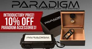 10% Off Paradigm Accessories