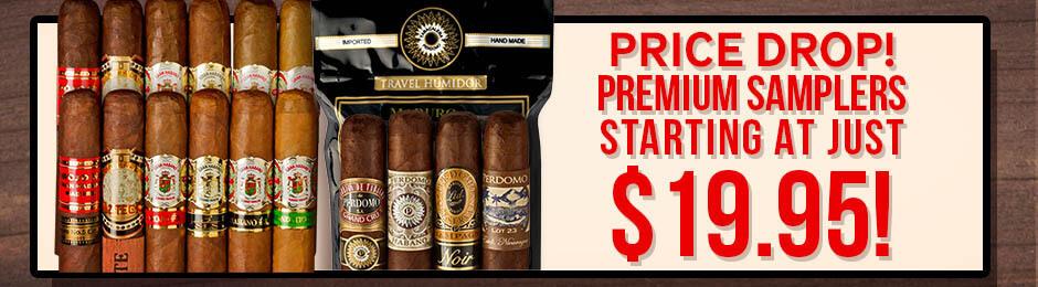 Price Drop! Premium Samplers Starting At Just $19.95!