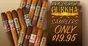 Gurkha Samplers Only $19.95