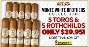 For 12 Hours, Get 10 Monte Whites For Under $40.00!