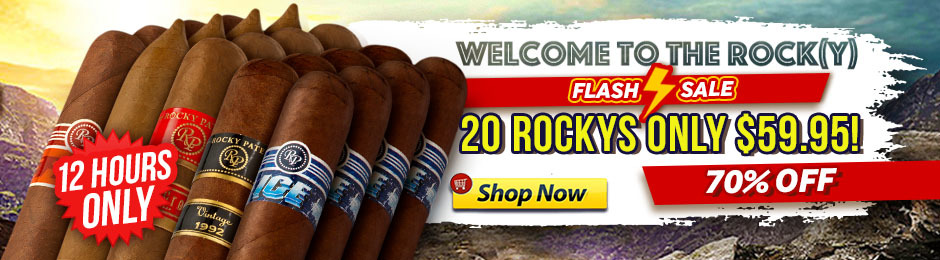 For 12 Hours, Get 20 Rockys For Under $60.00!