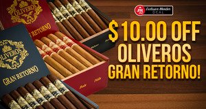 JR Plus Members Get $10.00 Off Oliveros + Free Shipping!