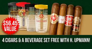 4-Pack & Beverage Set Free