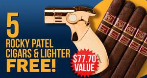 5-Pack & Lighter Free