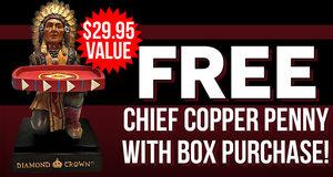 Free Chief Copper Penny