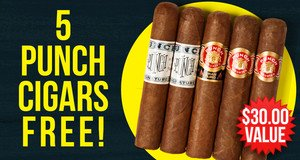 5 Punch Cigars Free