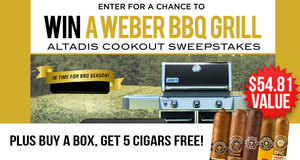 Altadis Cookout Sweepstakes