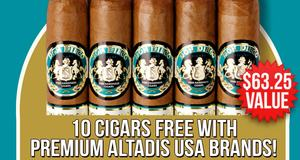 10-Cigar Assortment Free