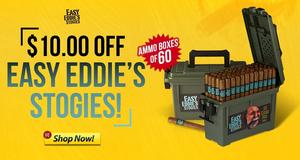 $10.00 Off Easy Eddie's Stogies!