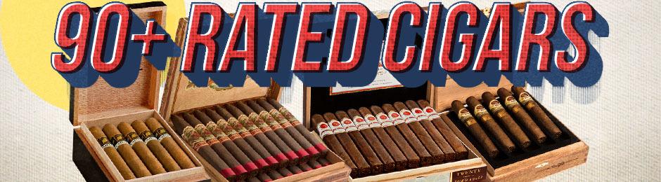 Cigar Aficionado's 90+ Rated Premium Cigar Picks!