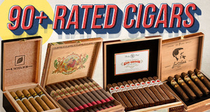 90+ Rated Cigars