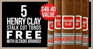5 Henry Clays Free