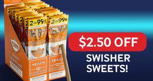 $2.50 Off Swisher Sweets