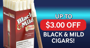 Up to $3.00 Off Black & Mild