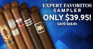 Expert Favoritos Sampler Only $39.95!