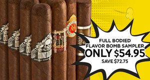 Full Bodied Flavor Bomb Sampler Only $54.95!
