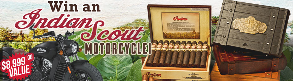 Enter For A Chance To Win An Indian Scout Motorcycle!