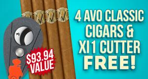 Avo 4-Pack + Cutter Free
