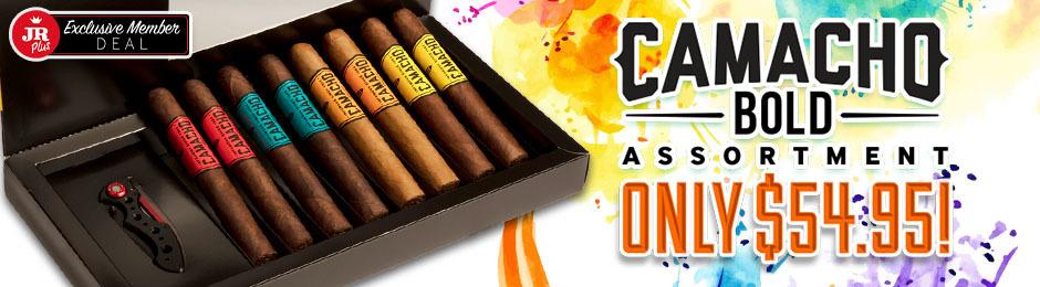JR Plus Members Get $35.00 Of Camacho Bold Assortment + Free Shipping!