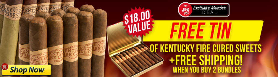 JR Plus Members Get Free Kentucky Fire Cured Sweets Tin + Free Shipping!