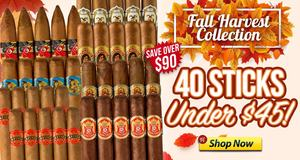 Fall Harvest Collection Of 40 Sticks Only $44.95!