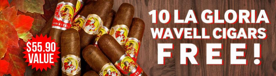 10 La Gloria Wavells Free With Box Purchase!