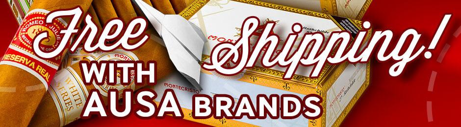 Free Shipping With Romeo & Montecristo Boxes!