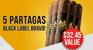 Partagas 5 Pack Free