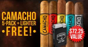 5 Pack and Lighter Free