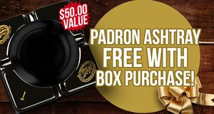 Padron Ashtray Free