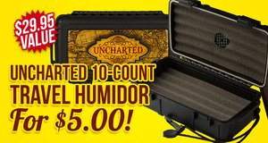 Uncharted Humidor For $5.00