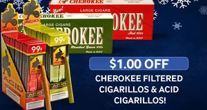 $1.00 Off Cherokee & ACID