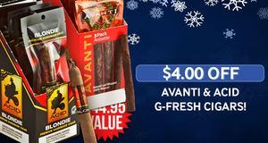 $4.00 Off Avanti & ACID