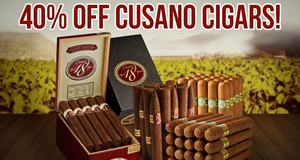 40% off Cusano