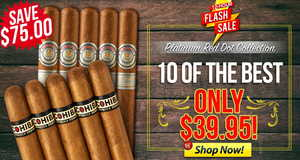 For 12 Hours, Get 10 Montes & Cohibas For Under $40!