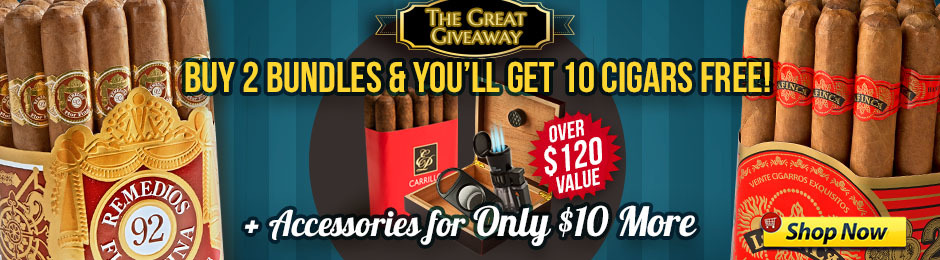f64878c402a7 10 Free Cigars + Humidor, Lighter, & Cutter Only $10 More! | JR Cigar